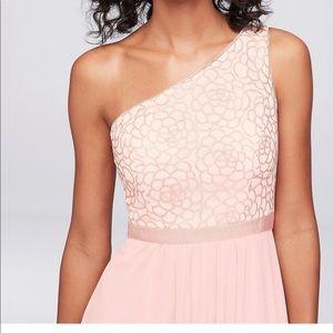 David's bridal bridesmaid dress new with tags